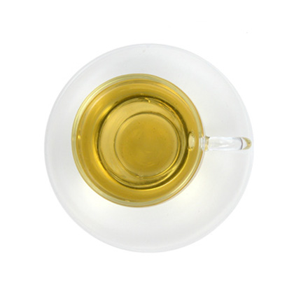 green tea steeped